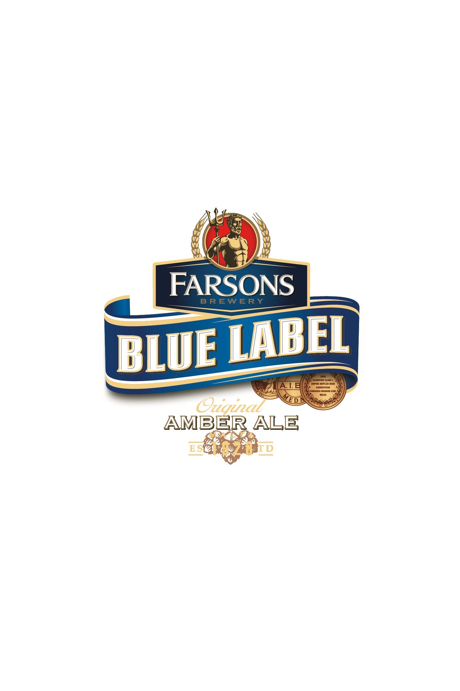 BLUE LABEL Logo Col